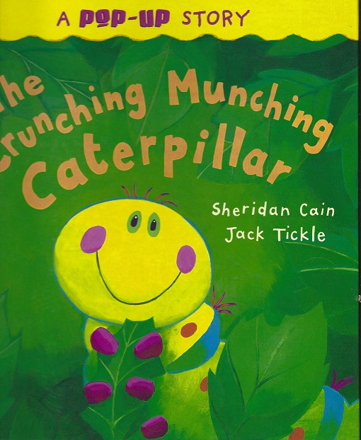Image for The Crunching Munching Caterpillar, a Pop-Up Story