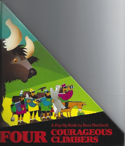 Image for Four Courageous Climbers A Pop-Up Book