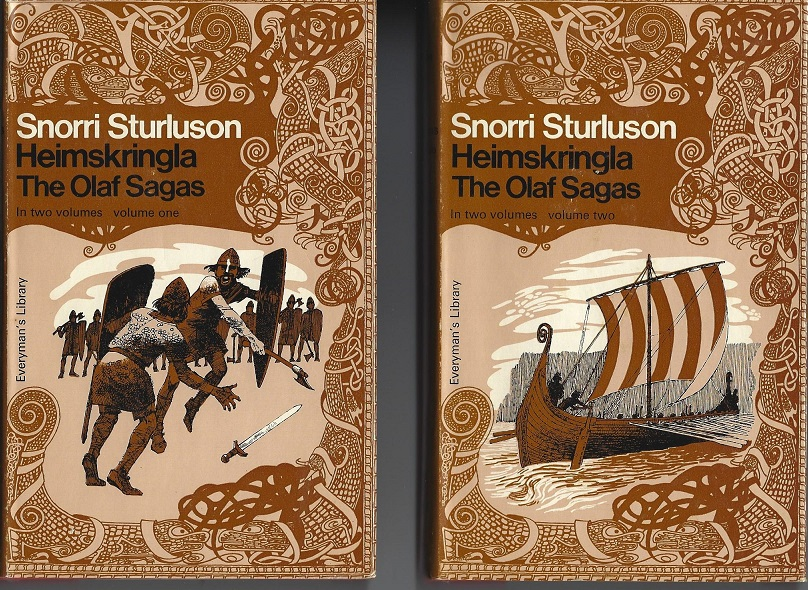 Image for Heimskringla:  The Olaf Sagas, 2 Volumes