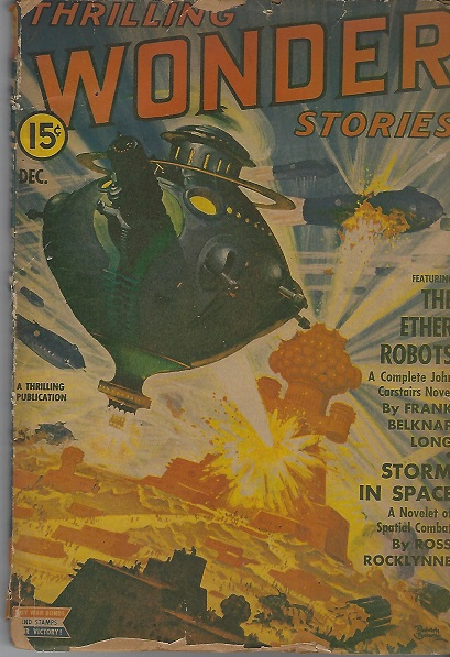 Image for Thrilling Wonder Stories, Vol. XXIII, No. 2, December 1942