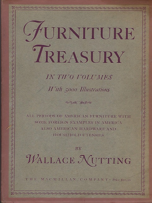 Image for Furniture Treasury (Mostly of American Origin) iin Two Volumes