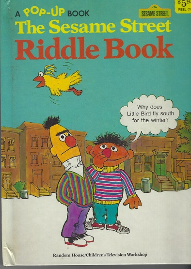 Image for The Sesame Street Riddle Book, A Pop-Up book