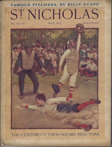 Image for St. Nicholas Magazine, Vol. XLI No. 7, May, 1914