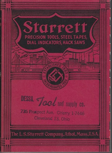 Image for Starett Precision tools, Steel Tapes, Dial Indicators., Hack Saws; Catalog 26