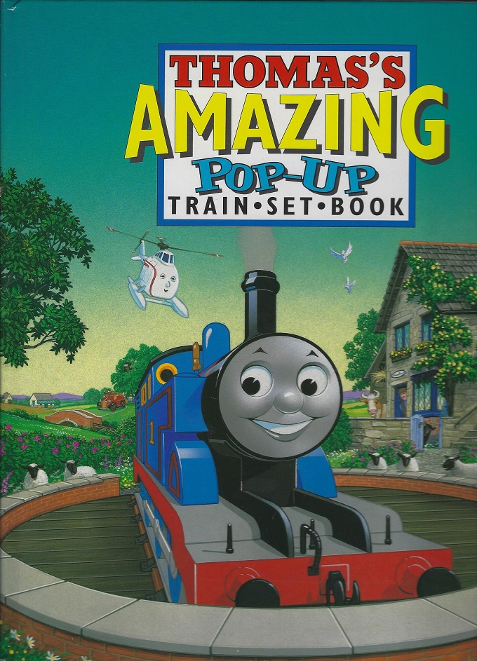 Image for Thomas's Amazing Pop-Up Train-Set-Book