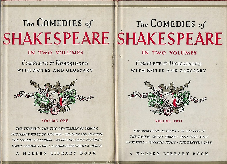 Image for The Comedies of Shakespeare in Two Volumes
