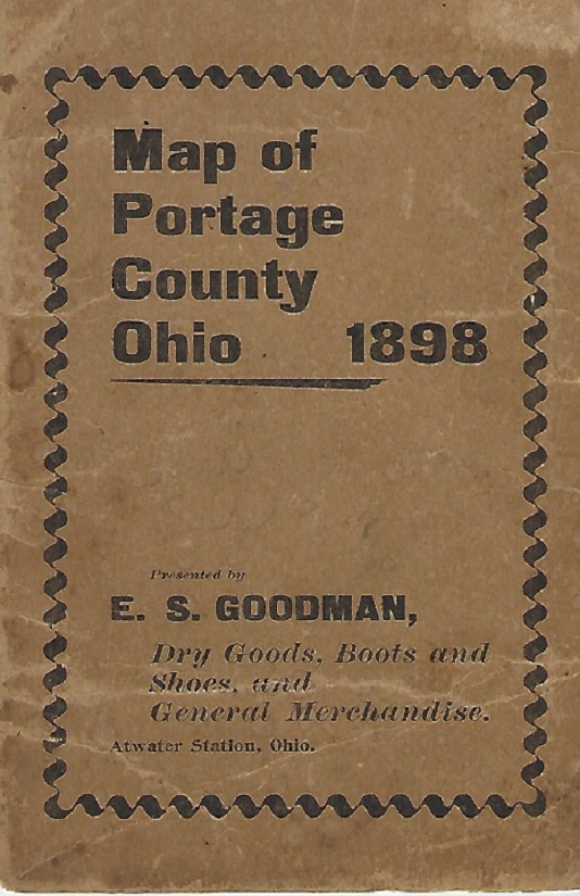 Image for Map of Portage County Ohio 1898