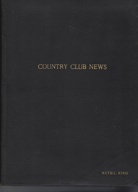 Image for Country Club News (Lakewood Country Club), June 15, 1922 - December 23,1923
