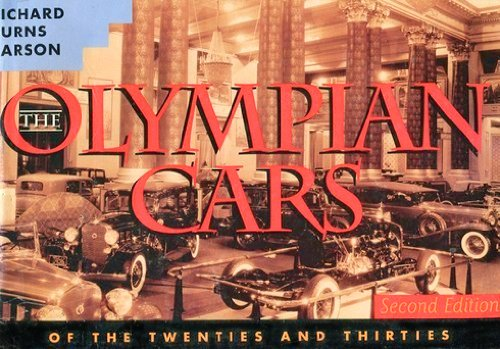 Image for The Olympian Cars of the Twenties and Thirties, Second Edition