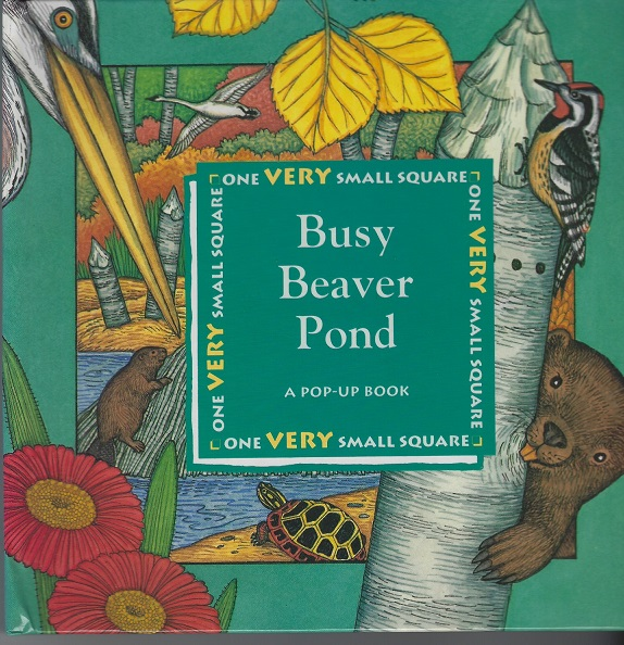 Image for Busy Beaver Pond, A Pop-Up Book (One Very Small Square)