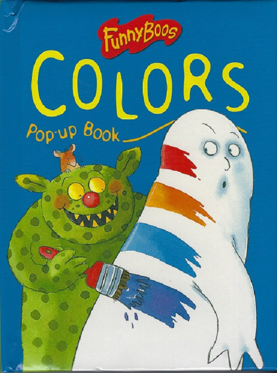 Image for Funny boos Pop-up-Book of Colors