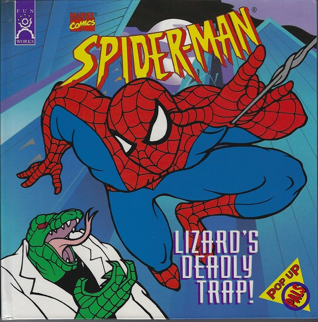 Image for Spider-Man, Lizard's Deadly Trap! Pop-Up