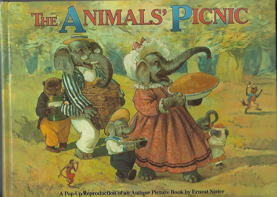 Image for The Animal's Picnic, A Pop-Up Reproduction of an Antique Picture Book