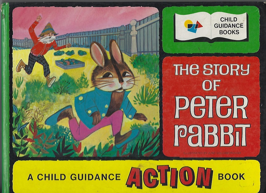 Image for The Story of Peter Rabbit, A Child Guidance Action Book