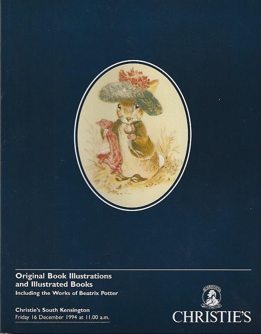 Image for Original Book Illustrations and Illustrated Books Including the Works of Beatrix Potter