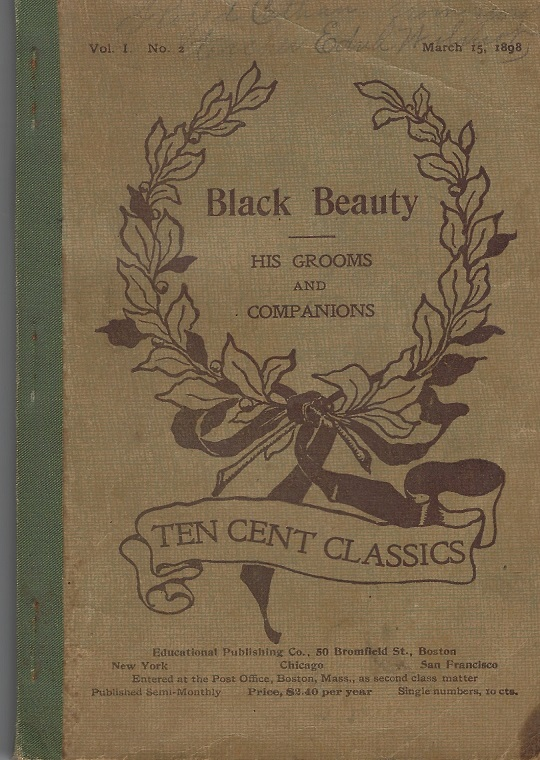 Image for Black Beauty, His Grooms and Companions (Ten Cent Classics)