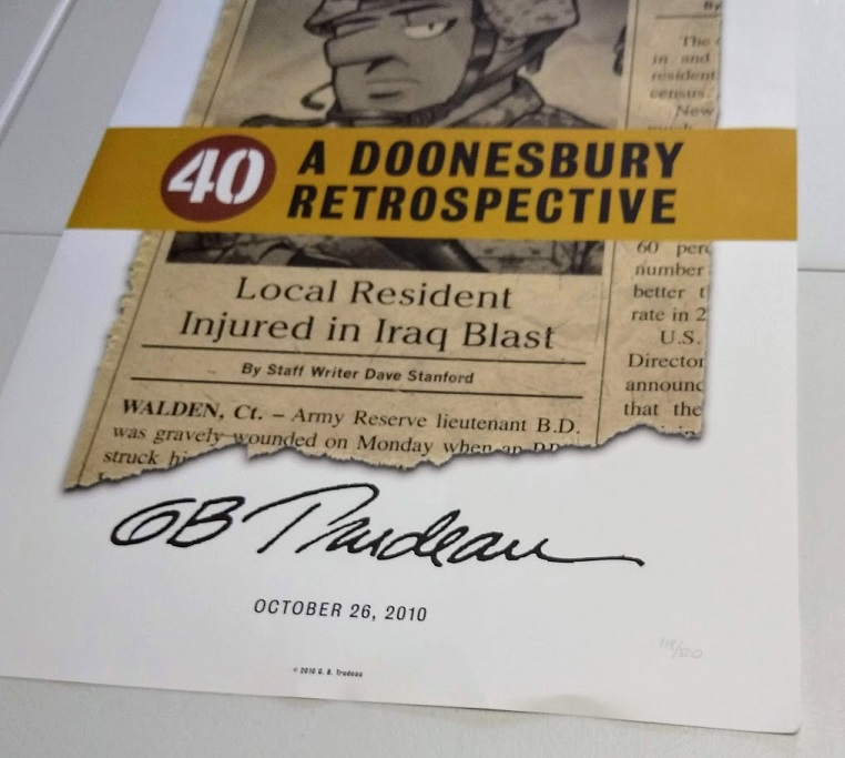 Image for Poster - signed  40:A Doonesbury Retrospective