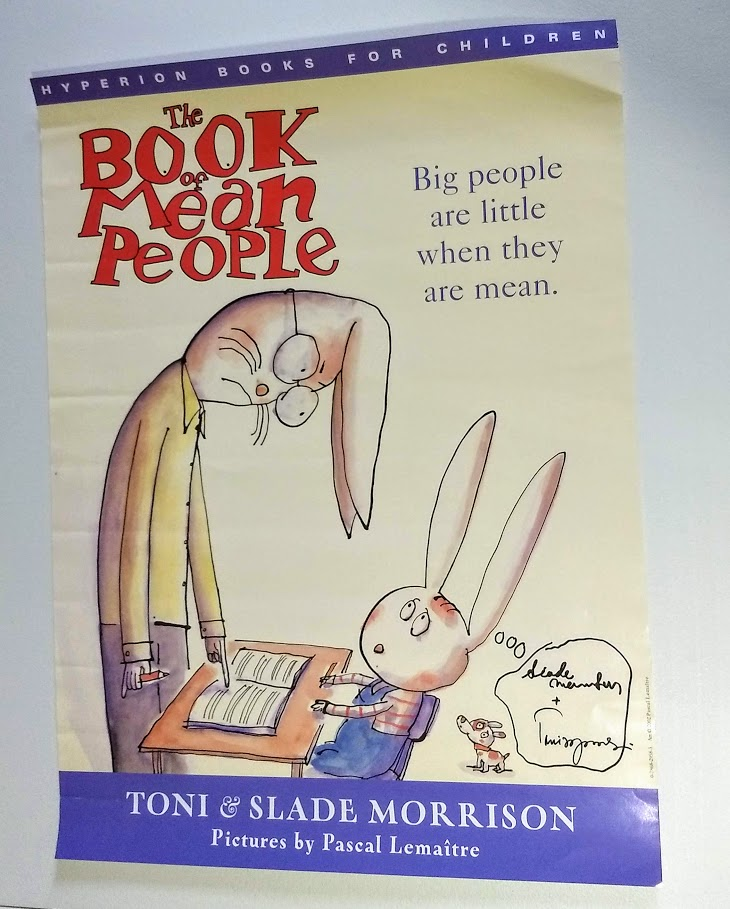 Image for Poster, signed - The Book of Mean People