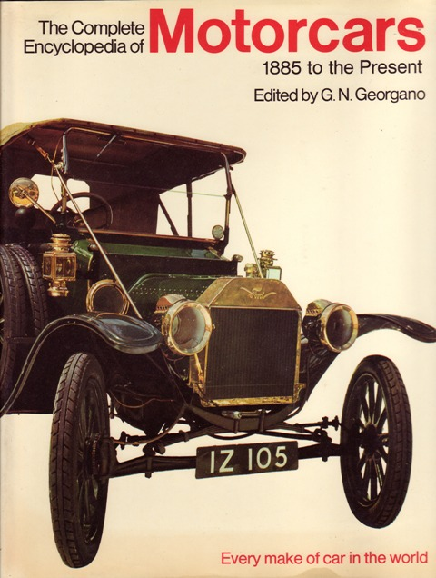Image for The Complete Encyclopedia of Motorcars 1885 to the Present