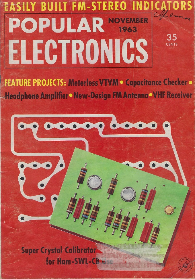 Image for Popular Electronics Magazine, November 1963