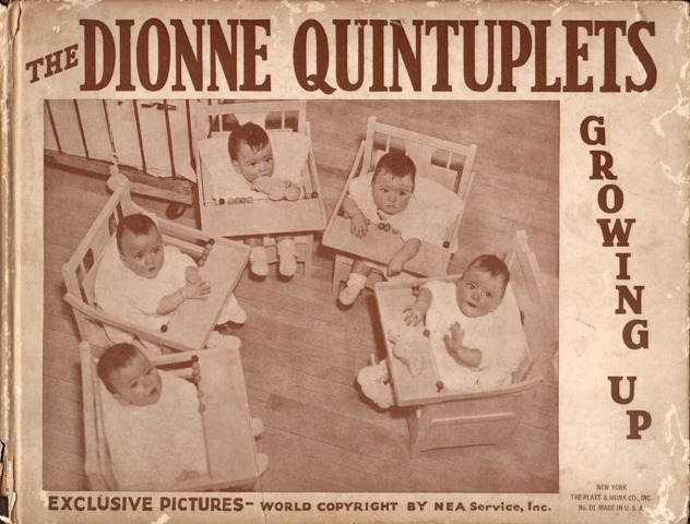 Image for The Dionne Quintuplets Growing Up