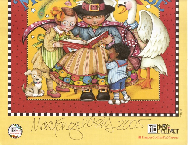 Image for Mary Engelbreit's Mother Goose - Small Poster - signed