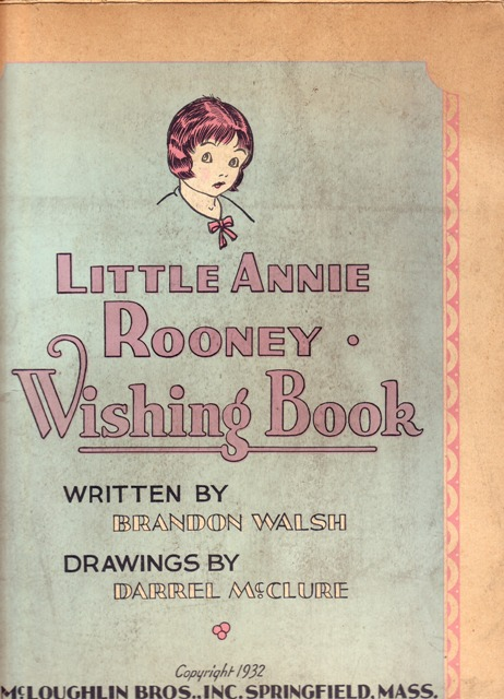 Image for Little Annie Rooney Wishing Book