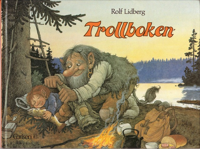 Image for Trollboken