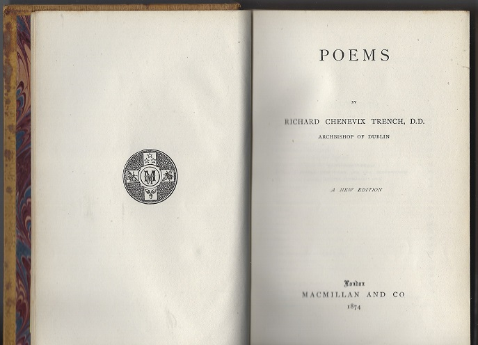 Image for Poems by Richard Chenevix Trench, D.D., Archbishop of Dublin