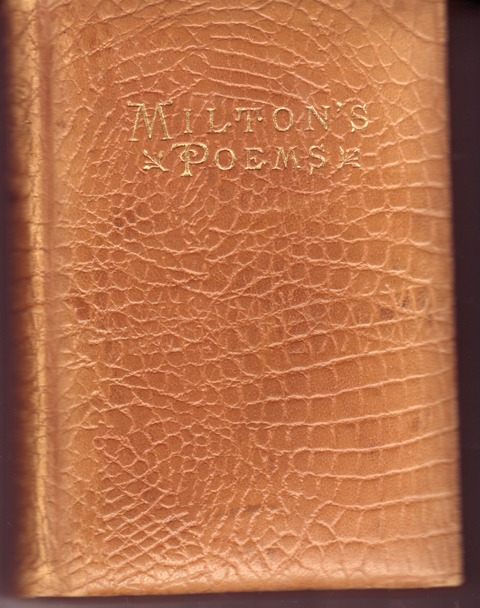Image for The Poetical Works of John Milton Reprinted From the Original Edition and Containing Numerous Explanitroy Notes