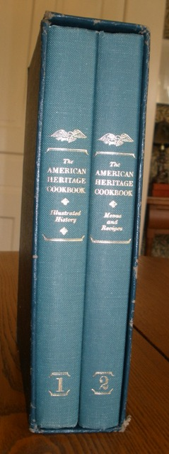 Image for The American Heritage Cookbook and Illustrated History of American Eating & Drinking:  2 Volumes in Slipcase