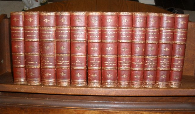 The Works of William Makepease Thackeray, 12 volumes