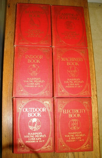 Image for Harper's Young People's Library Indoors & Out,  6 volumes