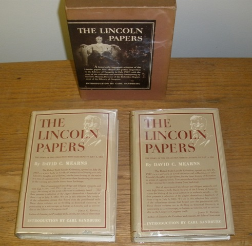 Image for The Lincoln Papers, 2 vulumes in slipcase