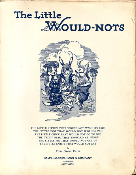 Image for The Little Would-Nots