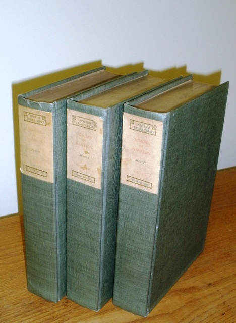 Image for Memoirs of the Emporer Napoleon from Ajaccio to Waterloo, as Soldier, Emporer, Husband, in Three Volumes Complete