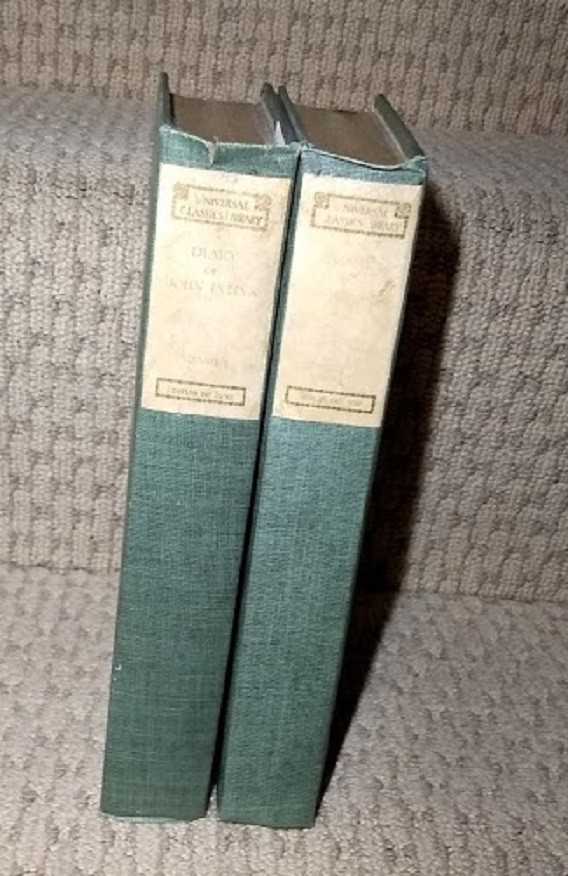 Image for The Diary of John Evelyn in Two Volumes Complete