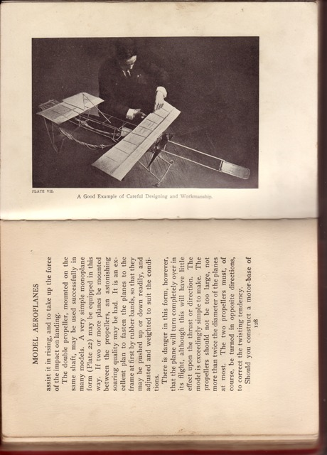 Image for Boys' Book of Model Aeroplanes How to Build & Fly Them; with the Story of the Evolution of the Flying Machine